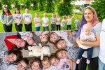 Třicetiletá supermatka Nicole má už 11 dětí! A to žádné nechtěla!