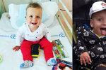 Vážně nemocný Adámek oslavil 2. narozeniny: Nejkrásnější dárek už jsi dostal, napsali rodiče