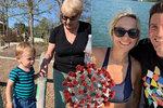 Lenka (39) z Chicaga ostře o zákazu cest do Evropy: Je to jako za minulého režimu! Syn neuvidí prababičku