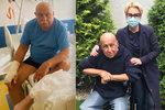 Nemocný Andrej Hryc promluvil o leukemii: Ochablé svalstvo a 100 dní pod zámkem!