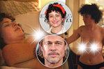 Brad Pitt si uměl vybrat! Jeho kráska odhalila na plátně pořádně velké »důvody«