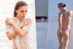 Sexy dědička Victoria Swarovski se drhne na luxusní jachtě: Čistota, půl zdraví!