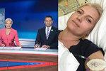 Blond zprávařka bojující s rakovinou: Po 11 týdnech zpět na obrazovce! Ale má to háček