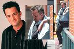 Kolaps Chandlera z Přátel přímo na ulici? Perrymu se vymstily cigarety a nadváha!