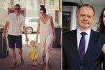 Dcera Kisky zrušila svatbu kvůli viru: Obavy o rodinu. Podnikatele z Vídně si vezme později