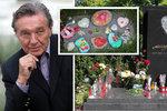Napjatá situace u Gottova hrobu: Úřady jsou v pohotovosti, rodina má obavy!