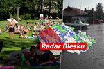 Páteční tropy v Česku utnou bouřky, sledujte radar Blesku. A jaký nás čeká víkend?