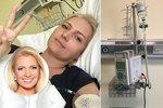 Blonďatá hvězda zpravodajství bojující s rakovinou: Poslední infuze a hurá domů!