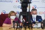 Už žádný chaos, slibují na severní Moravě. Šéfku hygieniků čeká kurz komunikace