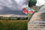 Mračna i déšť. Bouřky se v úterý přiženou od jihovýchodu ČR, sledujte radar Blesku
