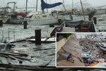 "Bouře Hanna ničila na pobřeží Texasu. Hrozí tornáda a ""katastrofické záplavy"""