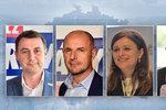 Výsledky krajských voleb: Kdo uspěl v jednotlivých krajích?