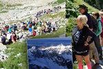 Šílené fronty v Tatrách: Turisté vzali útokem stezky, mačkají se jak sardinky