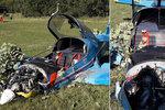 Letadlo se na Tachovsku zřítilo do pole: Pilot skončil v nemocnici