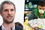 Boj s koronavirem v Praze:  Nasadíme roušky opět ve vnitřních veřejných prostorech? Podle Hřiba ano, už brzy