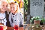 Nečekaná změna kolem hrobu Hany Krampolové (†59)! Jiří rázně změnil názor!