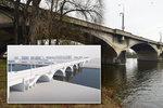 Libeňský most, verze 2. Rekonstrukce ho zachová a zefektivní pro dopravu, kdy se dočkáme?