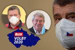 """Volby 2020: Výhru ANO vystřídala """"sprcha"""" pro Babiše a Zeman zaryl od poražené levice"""