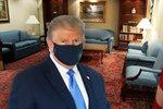 Trump bojuje s covidem v luxusním špitále: Má pro sebe prezidentské apartmá