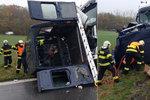 Nejtragičtější nehoda letošního roku: Čtyři mrtví po střetu dodávky s nákladním autem na Pardubicku!