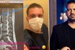 Porotce MasterChefa Kašpárek po akutní operaci: Pod vlivem dryáků promluvil z nemocničního lůžka!
