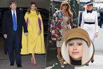 Módní kritička Blesku Ina T.: Nejlepší a nejhorší modely odcházející první dámy Melanie Trumpové