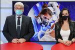 Epicentrum: Šéf Motola o očkování Čechů. A co říkal na Pafka a vagínu?