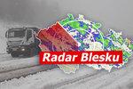 Na Česko se žene chumelenice. Napadne až 10 centimetrů mokrého sněhu, sledujte radar Blesku