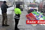 Nové výstrahy: Ledovka a vichr! Na Česko se sype sníh, nehod byly desítky, sledujte radar Blesku