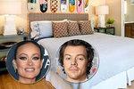 Harry Styles (27) randí s kráskou Olivií Wildeovou (36)! V této posteli spolu řádí