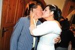 Svatební mejdan roku: Csáková líbala Gotta