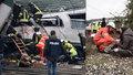 V Itálii vykolejil vlak, po neštěstí u Milána jsou nejméně tři mrtví