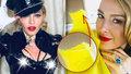 Madonna na Oscarech: Rok před 60. narozeninami tasila bradavky!