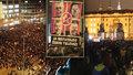 """""""Zemane, ČT nedáme. Na Hradě straší."""" Protest z Václaváku vyvrcholil na Hradčanech"""