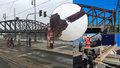 Železniční most byl v prosinci téměř na spadnutí: Z těchto záběrů jde strach, šlo o životy