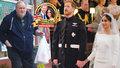 Otec Meghan koukal na svatbu v televizi: Pak poslal novomanželům vzkaz
