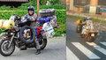 """Ostravany zaskočila """"nákladní"""" motorka: Kolem se prohnal cestovatel Igor Brezovar"""