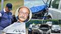 Herec Pavel Nový (69) boural! Dva zranění po hromadné nehodě