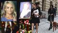 Pohřeb Gabriely Vránové (†78): Dagmar Havlová přišla i se psem