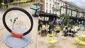 """Market pod magistrálou zdobí designový městský mobiliář: Měl by se """"líbit"""" bezdomovcům i profesorům, říká jejich autor"""