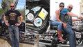 Motorkářská »velká sázka o malé pivo«: Pavel (45) zdolává svět na Harleyi už 10 let, projel 67 zemí