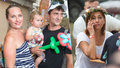 Rašilov s novou rodinou na akci, kde byla i Hybnerová: Úsměv jí zmizel z tváře