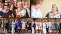 Zemanová si na Hrad vzala tenisky a průsvitnou tuniku. Přijala protějšky velvyslanců