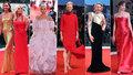 Filmový festival v Benátkách: Cukrová Lady Gaga, rudá Donatella a zlatá modelka Irina Shayk
