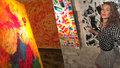 Vystavovala v Berlíně i v Cannes. V září se abstraktní obrazy Zuzany Křovákové představují Pražanům