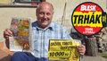 10 tisíc k narozeninám! Petr Carda (59) z Kolína je dalším vítězem Trháku