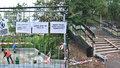 Nebezpečné schody pod Nuselákem v novém: Během půl roku opraví drolící se zídky i rozbité schodnice