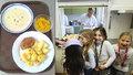 Obědy by měli podle návrhu ČSSD a premiéra dostat všichni předškoláci a školáci na prvním stupni základních škol.