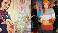 Maurerová odpočítává hodiny do porodu: Pálí mě žáha, přibrala jsem 18 kg