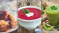 Odlehčení po vánočním hodování: Pohankové švestkové knedlíky i polévka z červené řepy